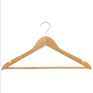 Other - Wood Suit Hangers - Pack of 15